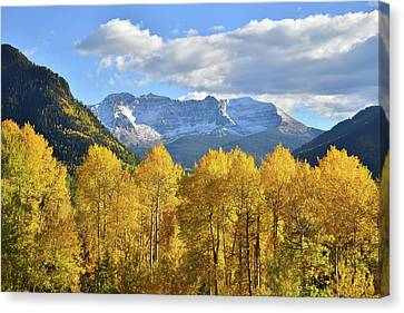 Canvas Print featuring the photograph Highway 145 Colorado by Ray Mathis
