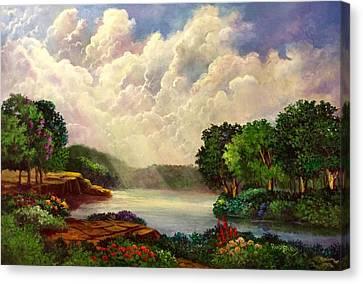 His Divine Creation Canvas Print