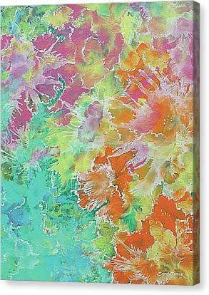 His Garden  Canvas Print
