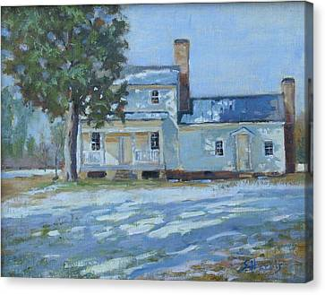 Hodge House C. 1811 Canvas Print
