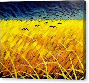 Homage To Vincent Canvas Print by John  Nolan