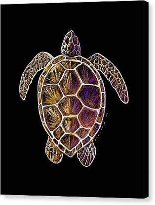 Honu Canvas Print by Kirsten Carlson