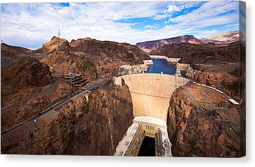 Phong Trinh Canvas Print - Hoover Dam by Phong Trinh