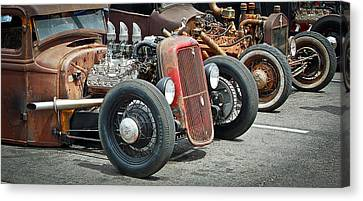 Hot Rods Canvas Print by Steve McKinzie