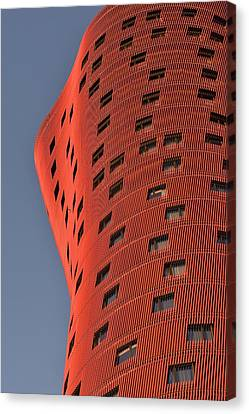 Hotel Porta Fira Barcelona Abstract Canvas Print