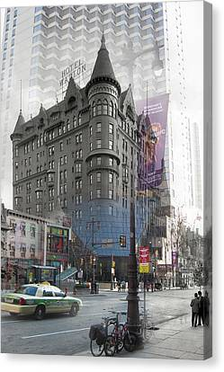 Hotel Walton Canvas Print