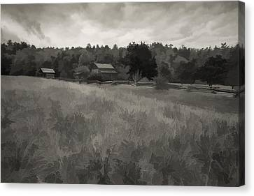 House In Decline  Canvas Print by Jon Glaser