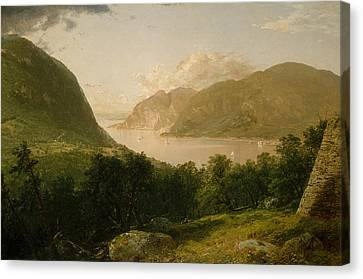 Hudson River Scene Canvas Print