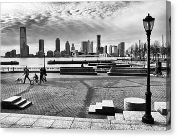 Hudson River Views Canvas Print by Jessica Jenney