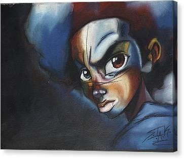 Black Panther Party Canvas Print - Huey Freeman by SirIsrael King