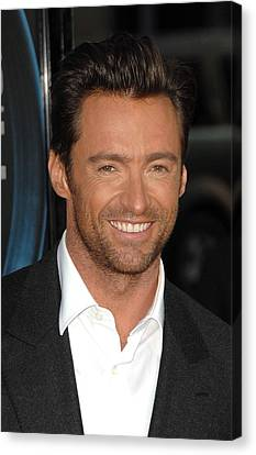 Hugh Jackman At Arrivals For L.a Canvas Print by Everett