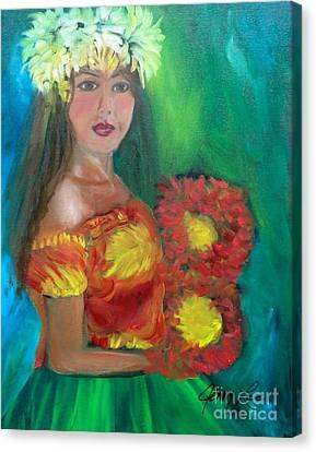Hula 1 Canvas Print