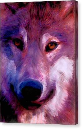 I Am Wolf Clan Canvas Print