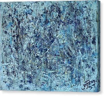 I Love Pollock Canvas Print