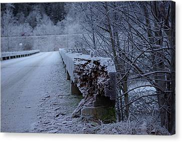 Ice Bridge Canvas Print