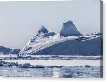 Icefjord - Greenland Canvas Print by Joana Kruse