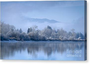 Icy Blue Canvas Print by Idaho Scenic Images Linda Lantzy