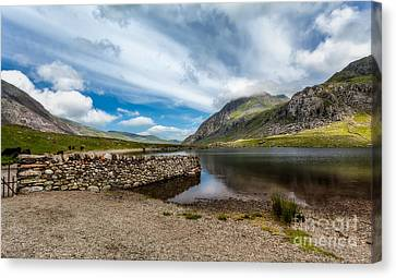 Idwal Lake Canvas Print
