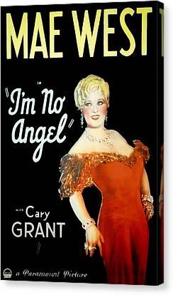 Im No Angel, Mae West, 1933 Canvas Print by Everett