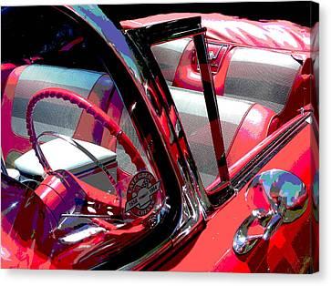 Impala Canvas Print by Audrey Venute