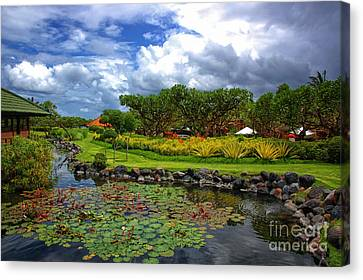 In Bali Canvas Print