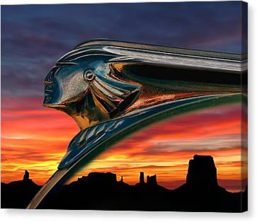 Indian Rainbow Canvas Print by Douglas Pittman