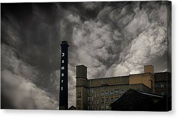 Industrial Background Canvas Print - Industrial by Martin Newman