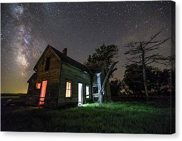 Abandoned House Canvas Print - iNHABiTED by Aaron J Groen