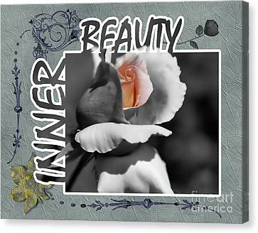 Inner Beauty Canvas Print by Smilin Eyes  Treasures