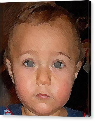 Innocense Canvas Print by Maribel McIntosh