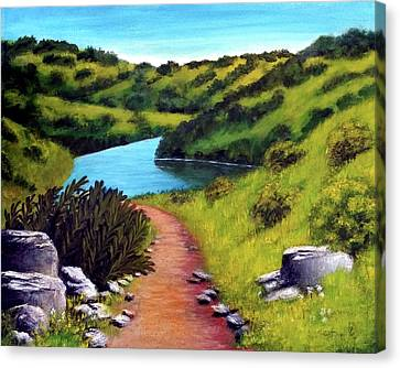 Inspiration Point Canvas Print