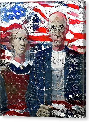 Inspired By American Gothic Canvas Print