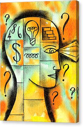 Knowledge And Idea Canvas Print