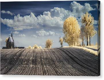 Infrared Canvas Print - Irenkowo by Piotr Krol (bax)