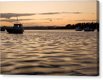 Canvas Print featuring the photograph Irish Dusk by Ian Middleton