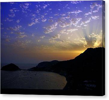 Canvas Print featuring the photograph Ischia Awakens by Patrick Witz