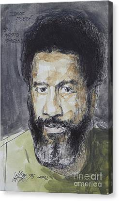 Ismael Rivera Canvas Print by Wade Hampton