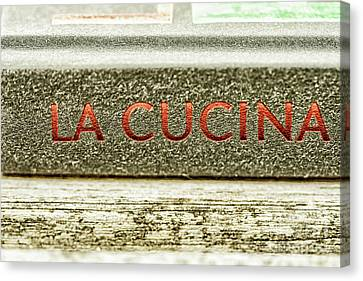 Canvas Print - Italian Cooking by Patricia Hofmeester