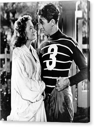 Its A Wonderful Life, Donna Reed, James Canvas Print by Everett