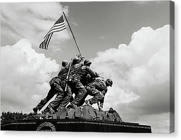 Iwo Jima Memorial Canvas Print by Brandon Bourdages