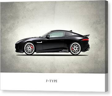 Jaguar F Type Canvas Print by Mark Rogan