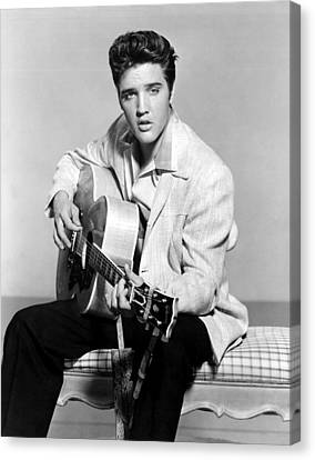1950s Portraits Canvas Print - Jailhouse Rock, Elvis Presley, 1957 by Everett