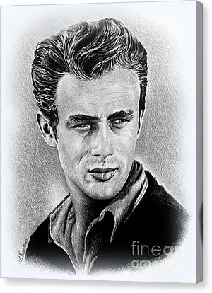 James Dean  Canvas Print by Andrew Read
