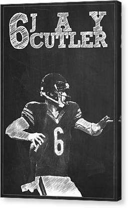 Jay Cutler Canvas Print
