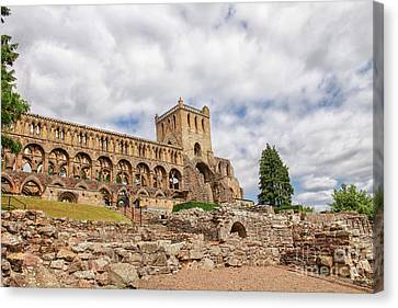 Jedburgh Abbey Canvas Print by Patricia Hofmeester