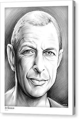 Jeff Goldblum Canvas Print