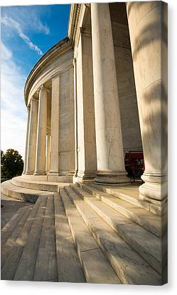 Jefferson Memorial Colonnade - 4 Canvas Print