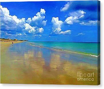 Jensen Beach  Canvas Print