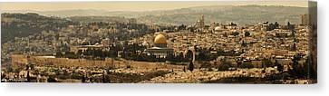 Jerusalem Canvas Print by Amr Miqdadi