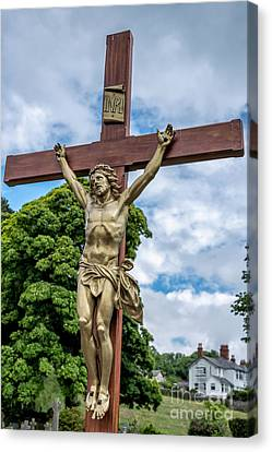 Jesus Of Nazareth Canvas Print by Adrian Evans